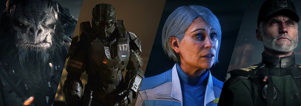 CHARACTERS - Halo wouldn't be anything without it's rich tapestry of characters and squads. Follow the links below for more information on the most influential characters in the Halo universe.