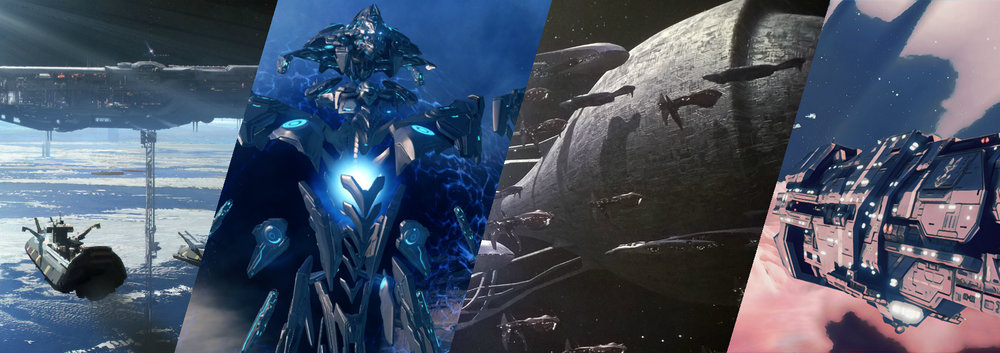 WARSHIPS - The naval battles fought during the Human-Covenant War were massive, with each side losing hundreds, if not thousands of ships, and millions of lives.