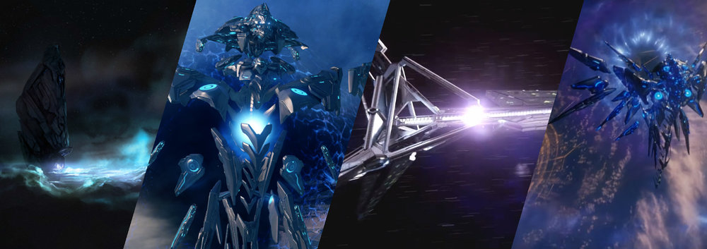 FORERUNNER WARSHIPS - Not much is known about the Forerunner navy, but the little the UNSC has discovered has shown their ships to be very large and incredibly powerful.
