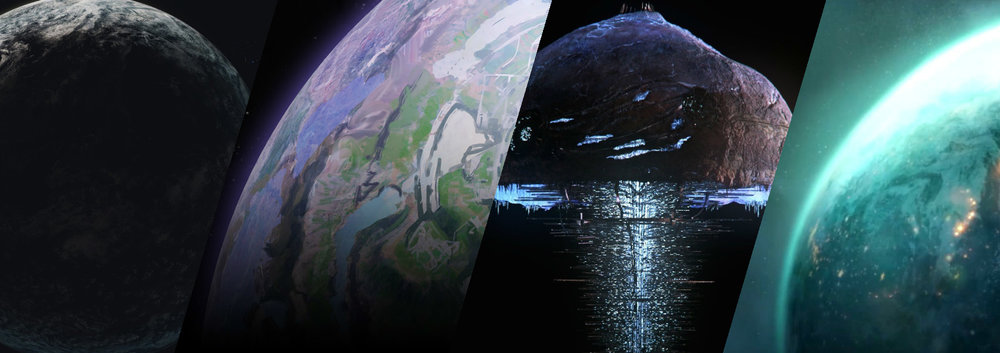 COVENANT WORLDS - There is not much known about the populated world of the Covenant and the Covenant species, though Sanghelios, the homeworld of the Sangheili, is by far the most visited in the lore.