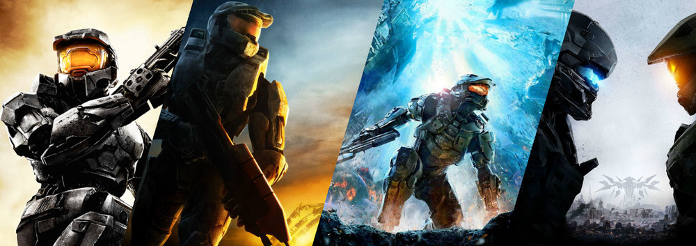 FIRST-PERSON SHOOTERS - Though the Halo media universe includes over twenty novels, over ten comic series, and two live-action movies, by far the most popular part of Halo is the games.