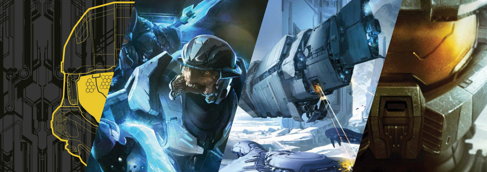 BOOKS - Halo may be best known for its games, but most of the Halo lore is actually in the books, with over forty full-length novels and short stories, as well as several illustrated reference books.