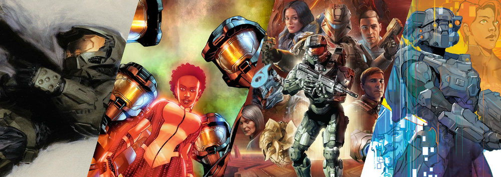 COMICS - While not as popular as the games and not as numerous as the books, the Halo universe has still taken many journeys through the medium of comic books.