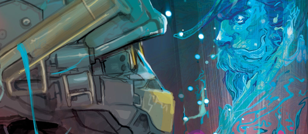 LONE WOLF ISSUE #2 - Introducing the second issue of the latest Halo comic, featuring Linda-058 on a solo mission without the help of Blue Team.