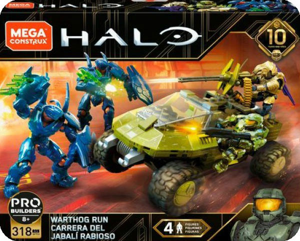 Halo Warthog Run