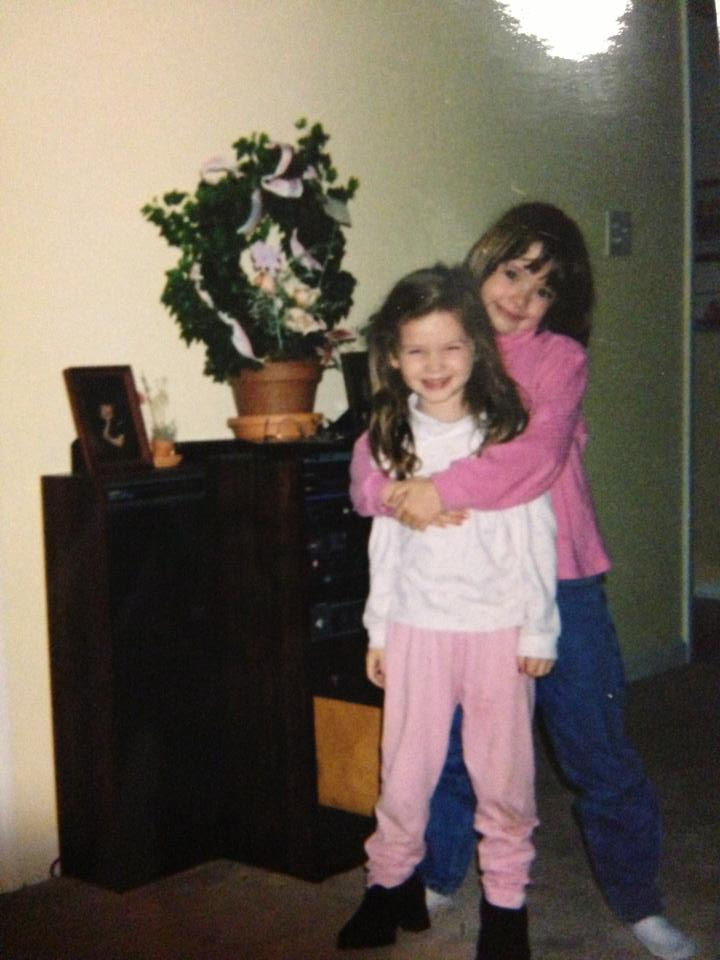 This is Summer and me, my inspiration for the first story I ever wrote. Check out those sweet bangs.