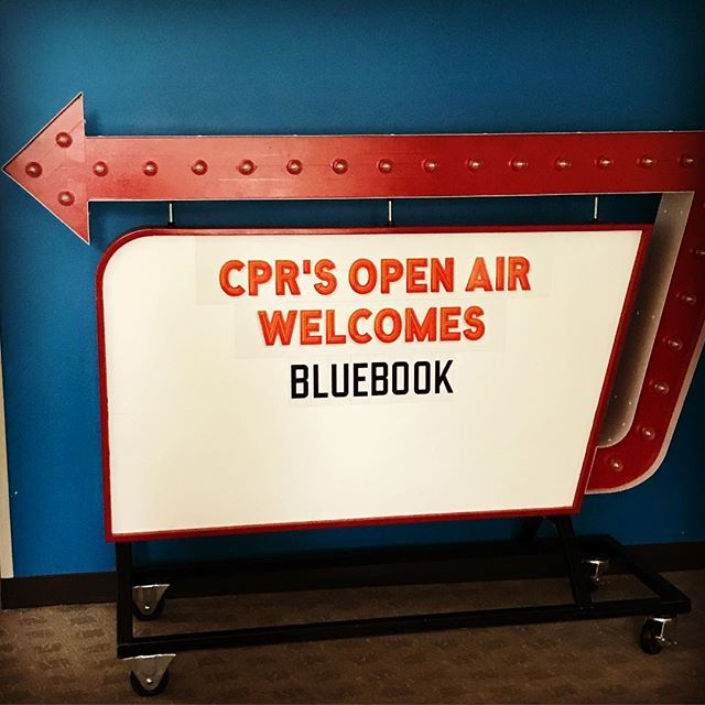 Tomorrow(Friday) is our EP release! We will also be on @openaircpr Mile High Noon. @thisisbluebook