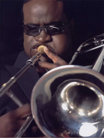 trombonist JEFF BRADSHAW was also featured