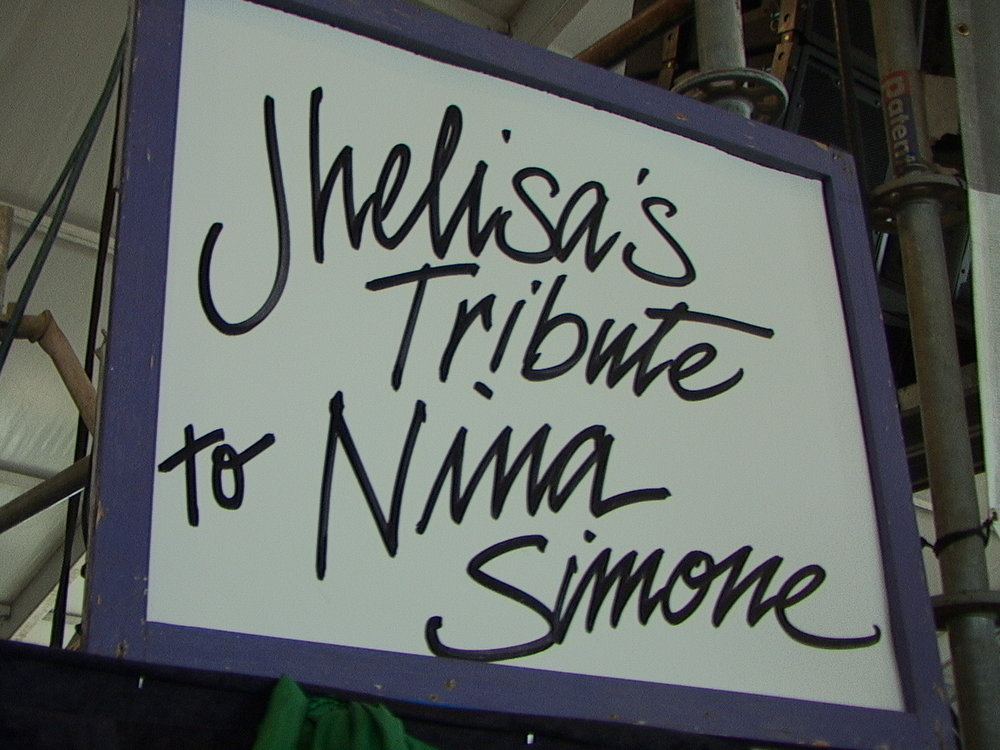 like JHELISA ANDERSON'S tribute to Nina Simone at the first New Orleans Jazz Festival after Hurricane Katrina