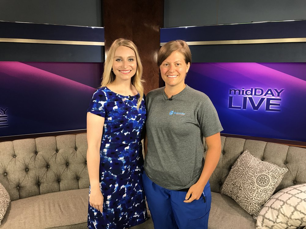 """A big thank you to Laura Rogers and WBKO TV.""  - Mary Duke, LCCE."