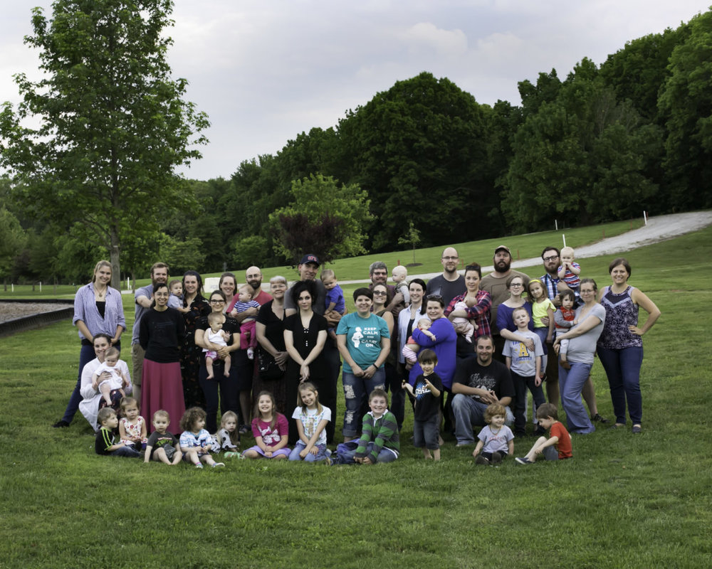 Lamaze group photo
