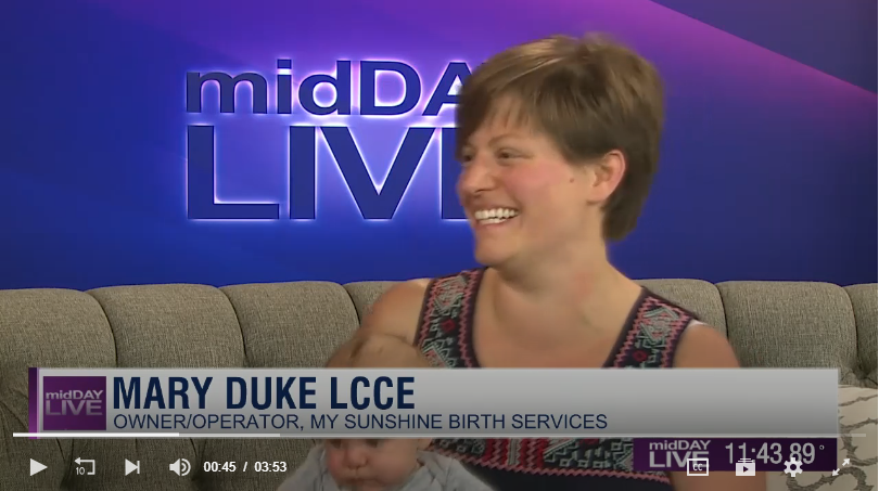 9/6/18   MiddayLIVE with WBKO13 in Bowling Green, Kentucky.   Click image to view the full video on WBKO.com