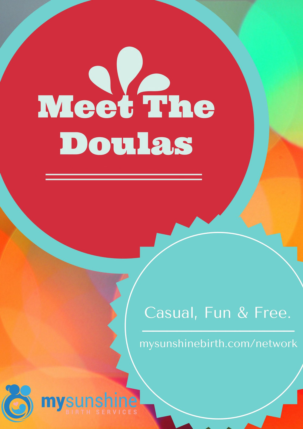Meet The Doulas - Meet the Doulas is a casual, fun and FREE event where you can meet and chat with local Doulas. Expect to meet local Doulas working in birth, bereavement and postpartum along with childbirth educators, lactation specialists, VBAC specialists, and birth photographers. We hope to see you there!
