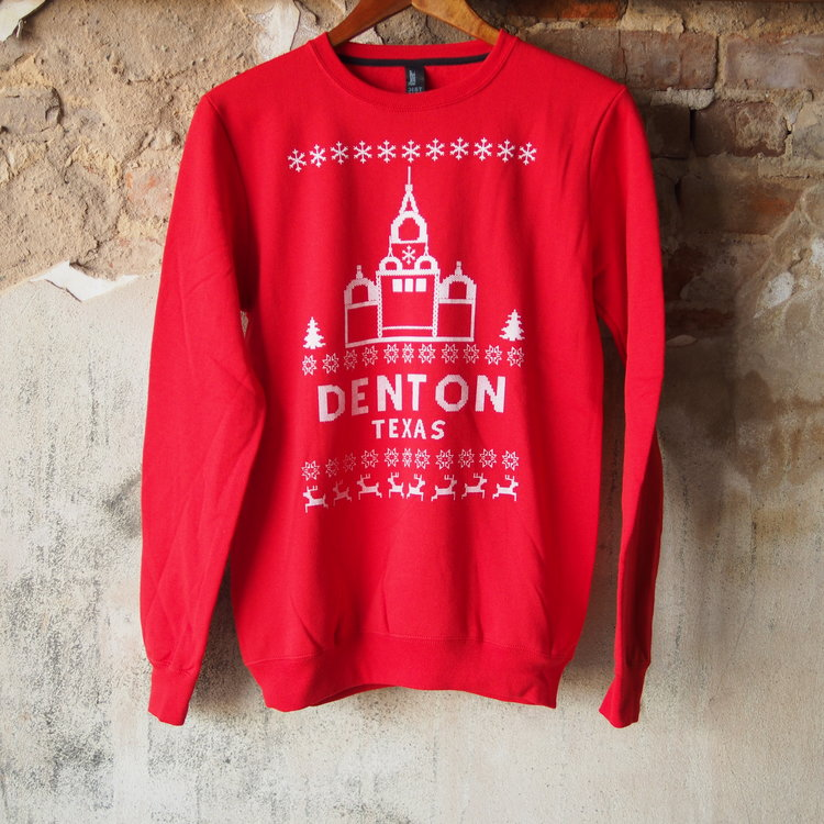denton christmas sweater classic comfy red - Classic Christmas Sweaters