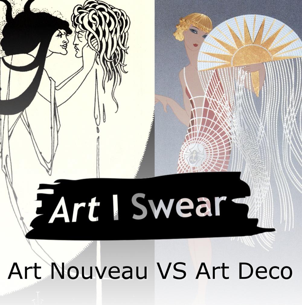 Art Nouveau Vs Art Deco - Podcast — Gumbie Cat Networks