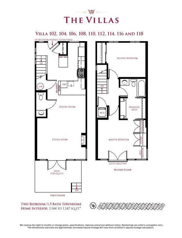 Villa 102, 104, 106, 108, 110, 112, 114, 116, 118