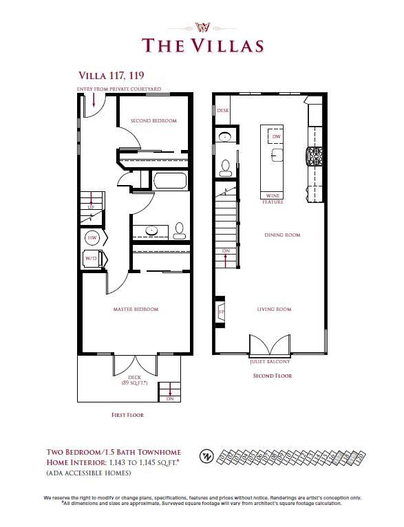 Villa 117, 119