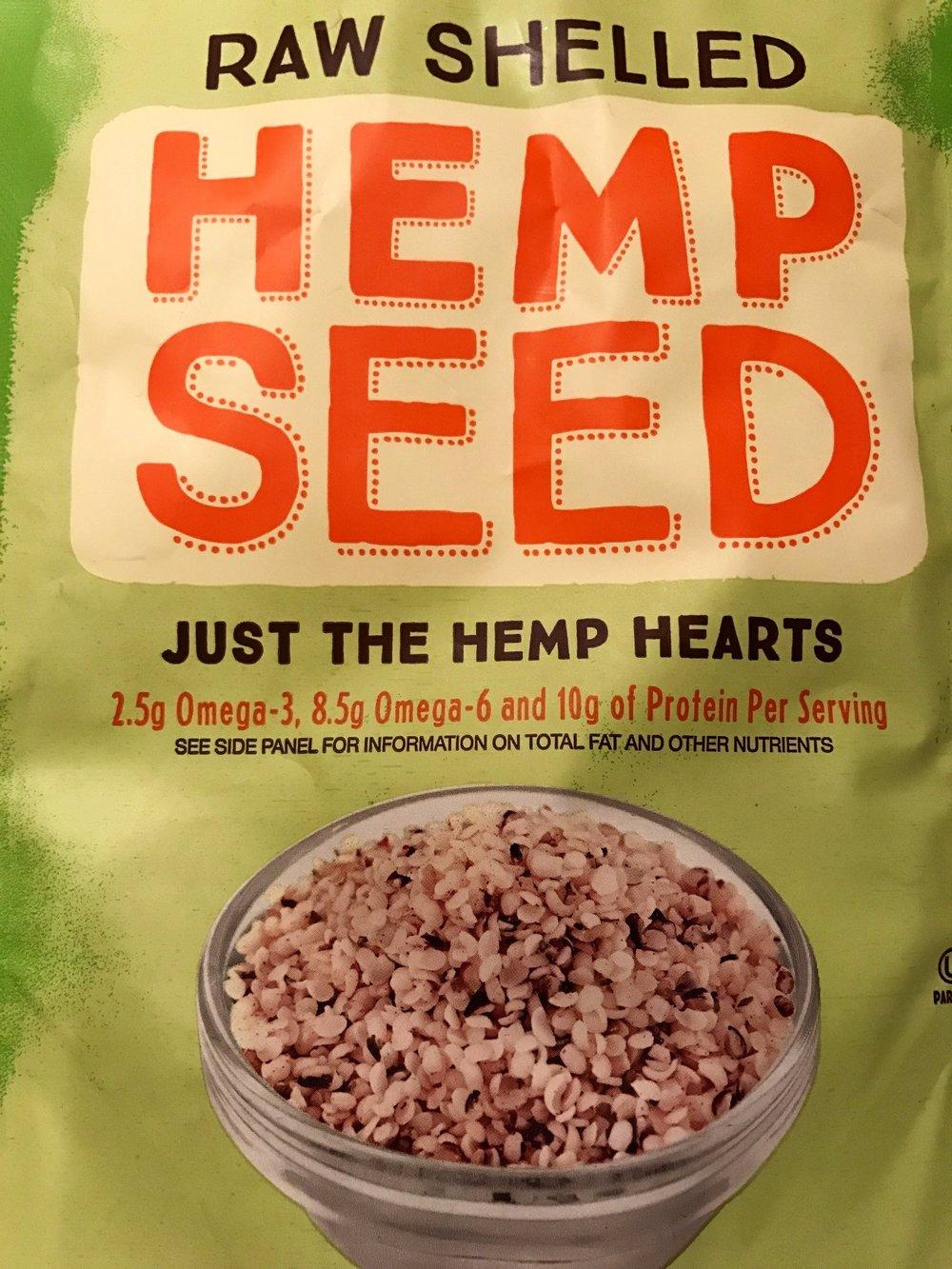 hemp seed vegan protein superfood