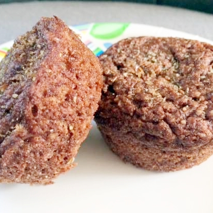 paleo gluten free cinnamon raisin muffins