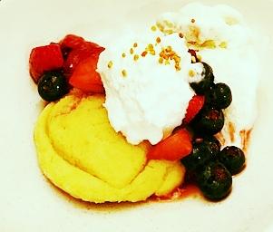 Paleo shortcake