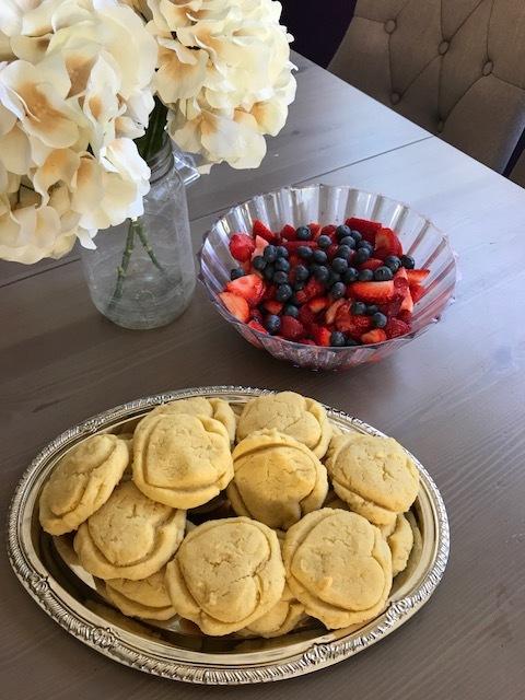paleo berry shortcake