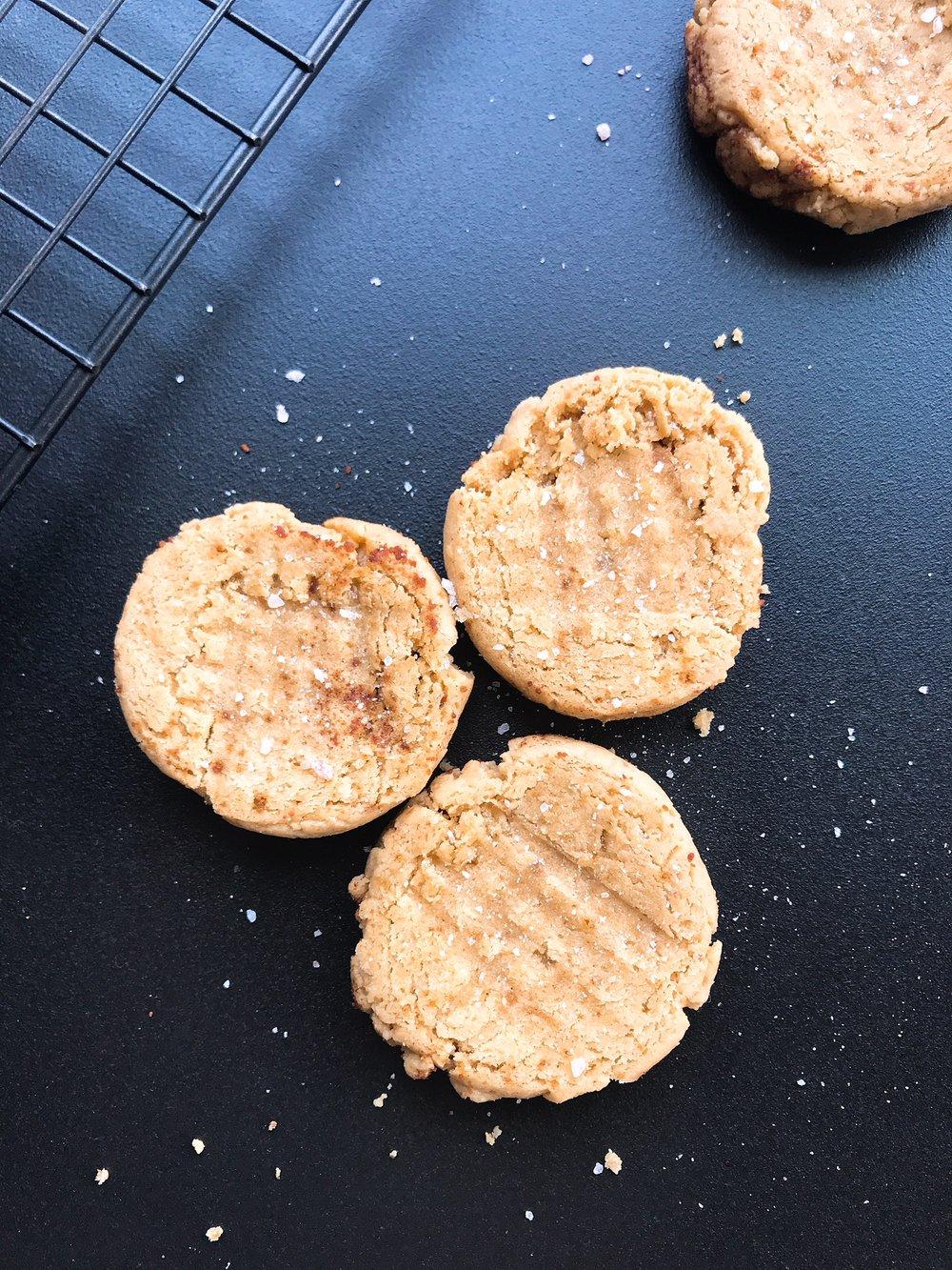 gluten free nut free peanut butter cookies