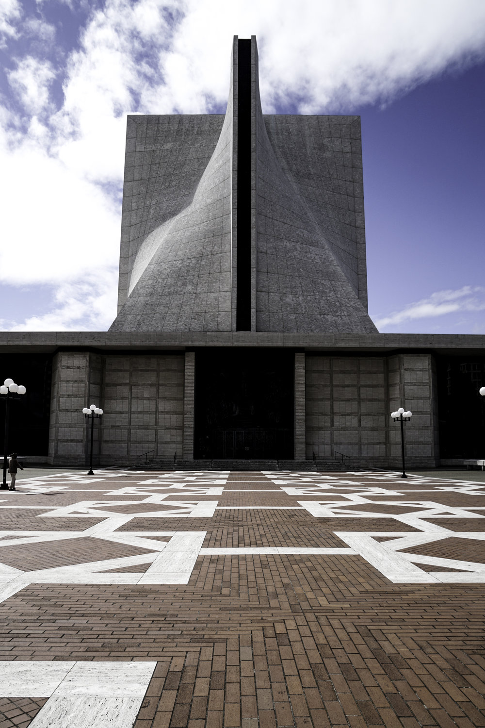 SAINT MARY'S CATHEDRAL - Pietro Belluschi and Pier Luigi Nervi, 1971