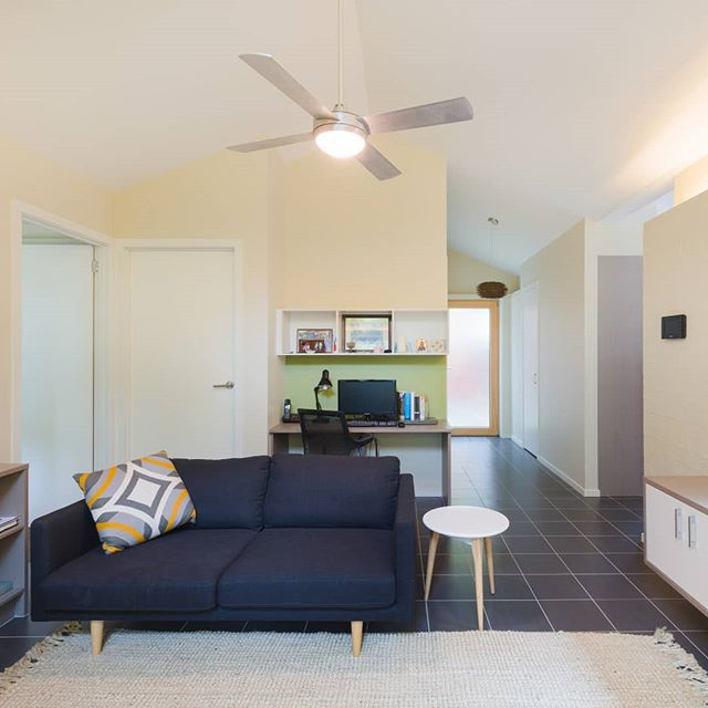 The Mill Projects: The Gatehouse  An intimate space that will provide for the intended resident as well as adapt for future users.  Photography: Kiernan May