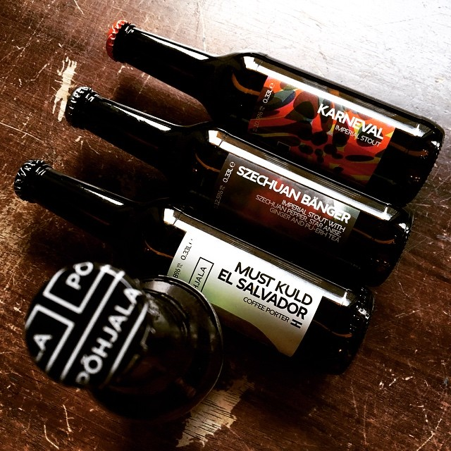Why not try something dark and strong? It'll warm you up. #simonthetanner #pohjala #imperialstout