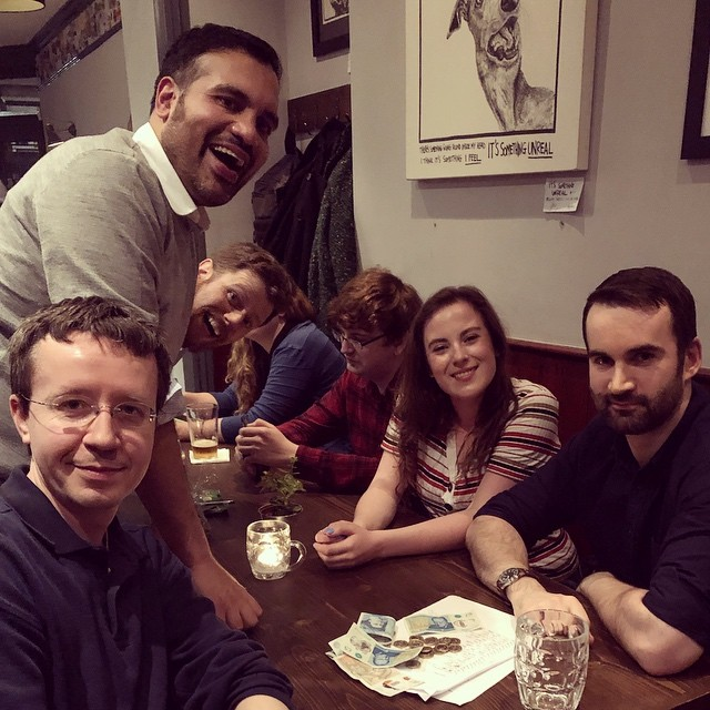 Hey guys. Great quiz yesterday and congratulations to our winners. Also brilliant work from Jobson again this week (Quiz Master Supremo!) #simonthetannerquiz #bermondsey #southlondon #pubquiz #drinklocal #motherkellys
