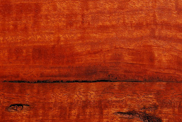 River Red Gum - River red gum is an iconic shade of red and is known for is distinctive brilliant colouring ranging from pink to almost red. It has strong pronounced gum and veins. A gorgeous timber on its own, it is recommended to use with only a clear lacquer.