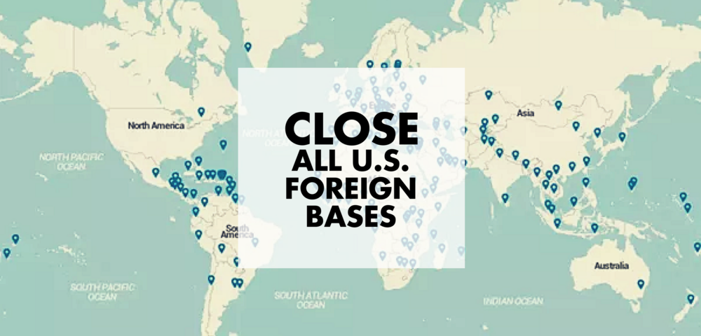 Close All U.S. Foreign Bases