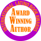 International Latino Book Awards Award Winning Author Badge