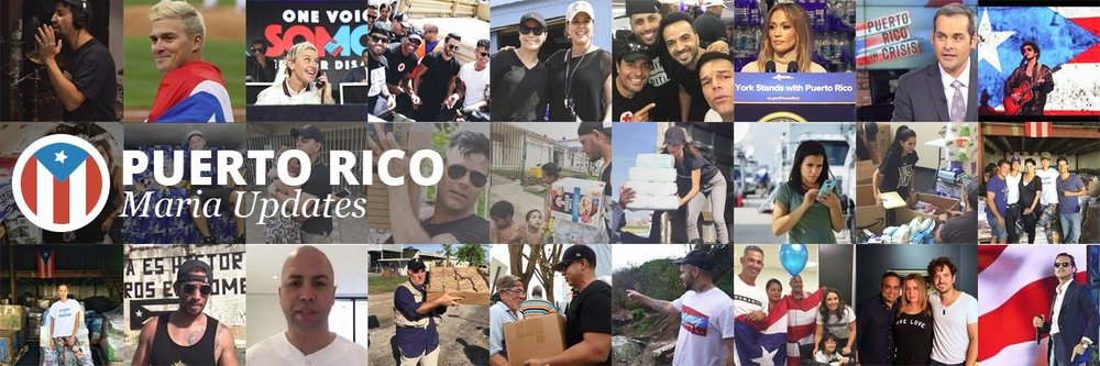 - Updates on Puerto Rico in the aftermath of Maria. 250,000+ neighbors helping neighbors re-connect with loved ones.