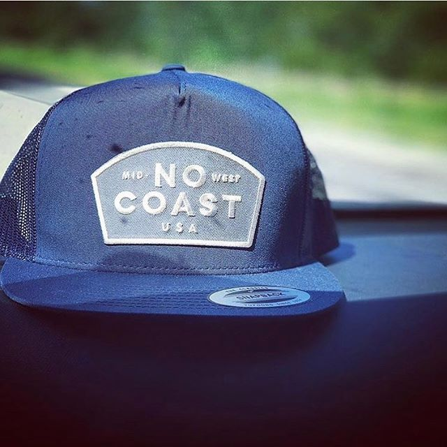 Lovin' this shot of our No Coast snapback, caught mid-road trip by @apriltk3. Snag one for yourself at the link in our bio or over at @acmegift in #aggieville. . . . #nocoast #snapback #snapbackhat #flatbill #patch #patchgame #embroidery #midwest #midwestlife #kansas #nebraska #southdakota #northdakota #minnesota #missouri #iowa #illinois #indiana #michigan #ohio #wisconsin #shoplocal #locallove