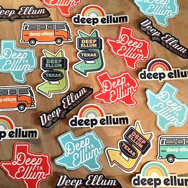 You're up, Deep Ellum! Fresh Acme Local stickers in stock at @lifeofrileyhome! . . #stickers #acmelocal #deepellum #dallas #texas #dallastexas #customstickers #locallove