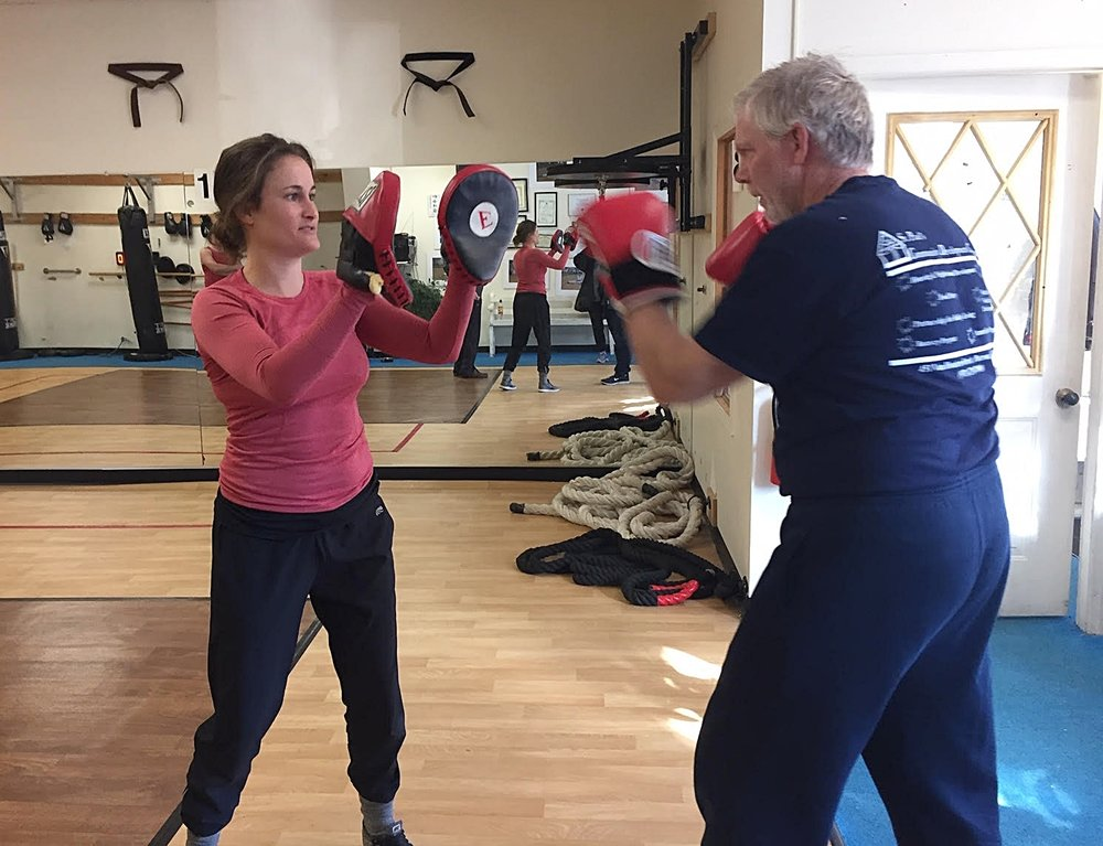 """""""This is the most intense physical exercise I do all week and it's better to do it with Leah than doing it on my own!"""" — Glenn    """"It's the only program I found in the last four years that helps me arrest the progress of this disease."""" — John"""