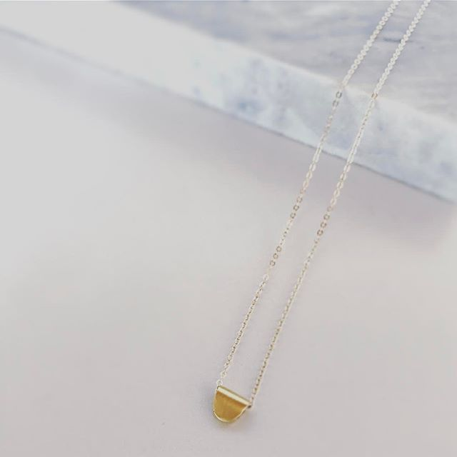 Mini folded taco necklace in matt gold . . . . . #tacos #folded #gold #goldjewelry #handmade #handmadejewellery #handmadeinmelbourne #melbournejeweller #melbournemakers #melbournemade #bowerbirdbazaar #necklace #necklaces #contemporary #contemporaryjewelry #contemporaryjewellery