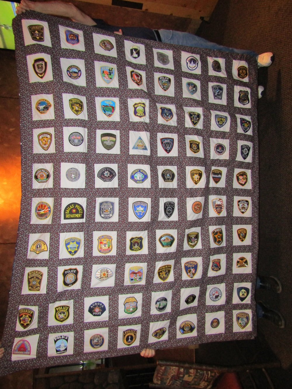2018 SOUTHERN NEVADA CONCERNS OF POLICE SURVIVORS  POLICE PATCH QUILT----Tickets now available $5 each or 5 for $20  Email snvcops@gmail.com or call 702-875-3359 for tickets.  Drawing will be at the August meeting of SNV C.O.P.S.