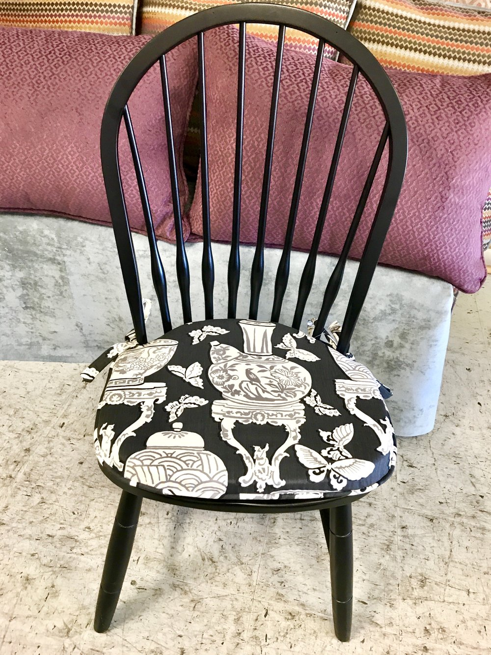 DINING seat custom cushions