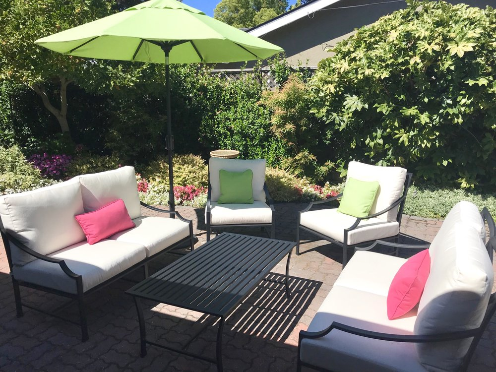 custom outdoor CUSHIONS and custom pillows
