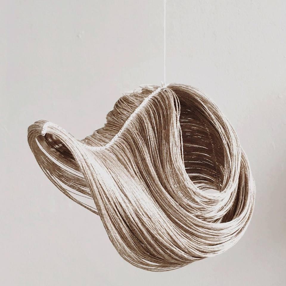 armadillidium vulgare 2  linen, aluminum  2017
