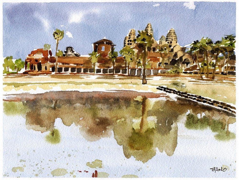 Every Cambodian House Needs an Angkor Wat
