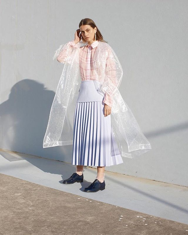 Protea Tulle Socc's featured in @badlands.journal 🌸 Photography: @christophermorrisphoto  Model: @paulina_liskova  Styling: @roma.styling assisted by @__textured__  Hair & makeup: @kimba_hairandmakeup