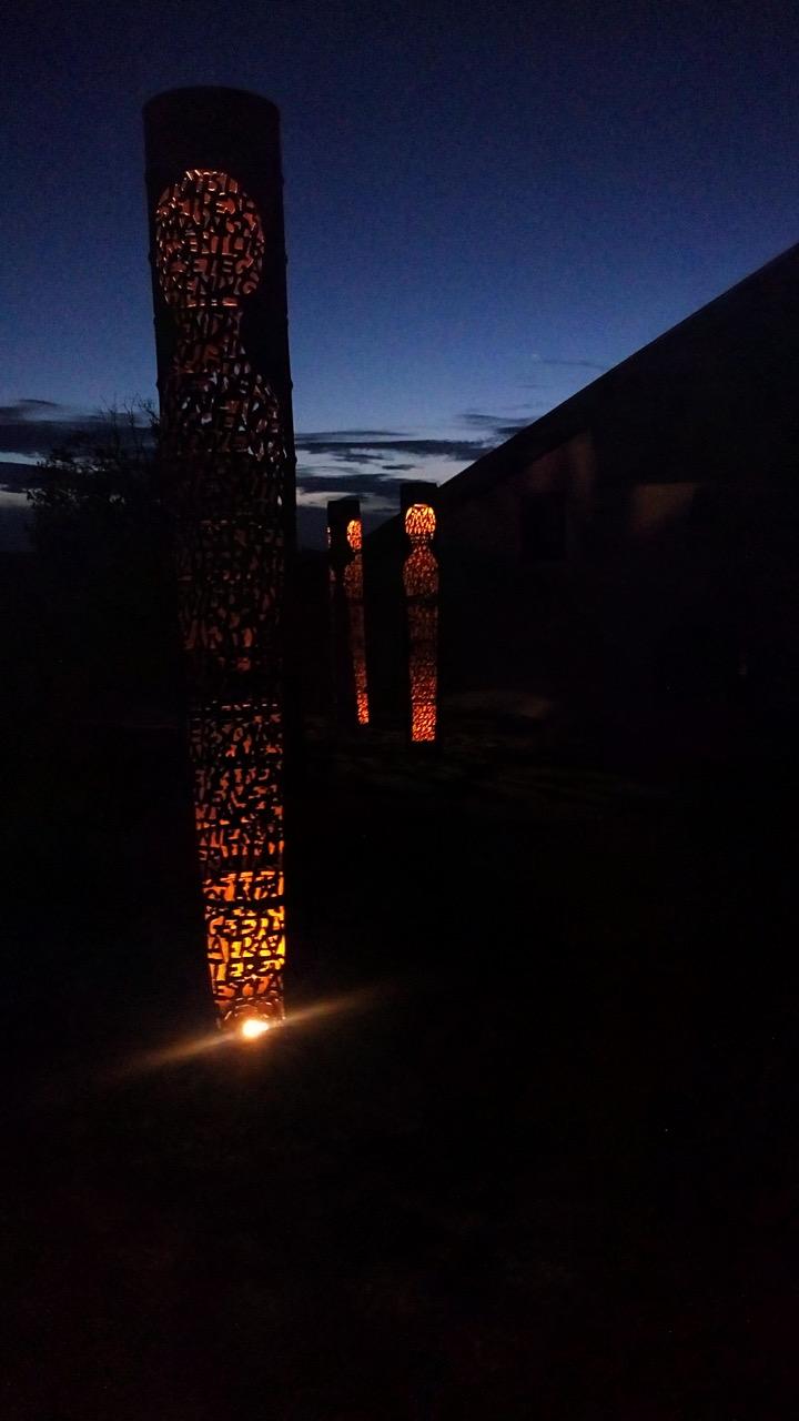 Sentinelles - vue de nuit