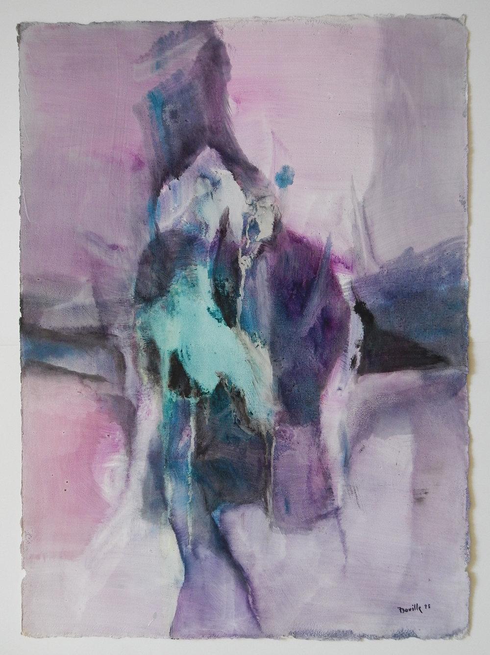 Sans titre / 2 (violet)