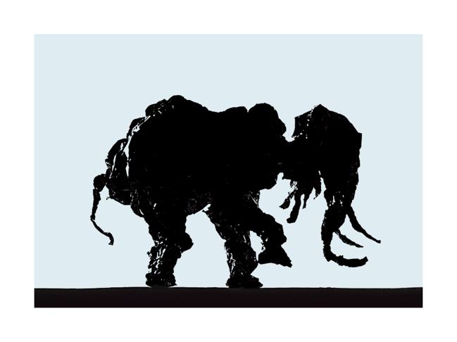 Le dernier éléphant , 1979/2018