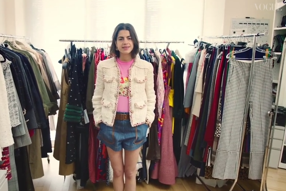 Inside The Wardrobe Of Man Repeller's Leandra Medine