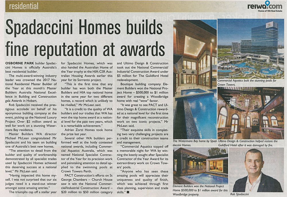Spadaccini Homes builds fine reputation at awards.jpg