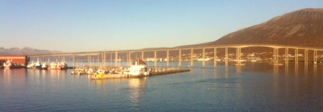 Tromsøbro över Tromsøsundet